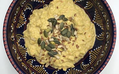 Hummus di fave proteico