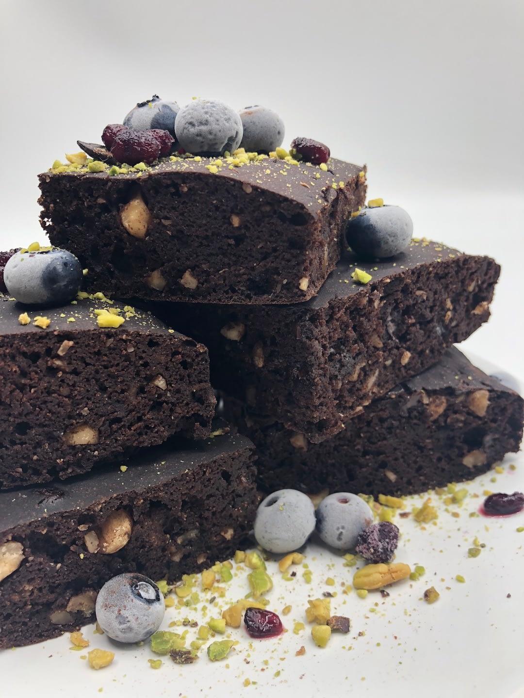 Brownie Nocciole E Cioccolato