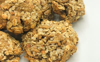 Biscotti express con nocciole e fiocchi d'avena