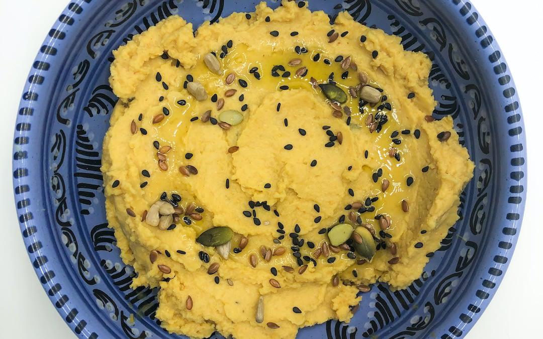 Hummus di ceci affumicato