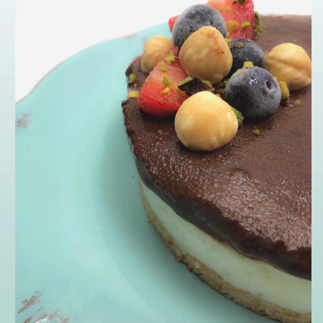 cheesecake light al cioccolato