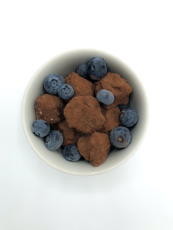 tartufini cioccolato e cocco