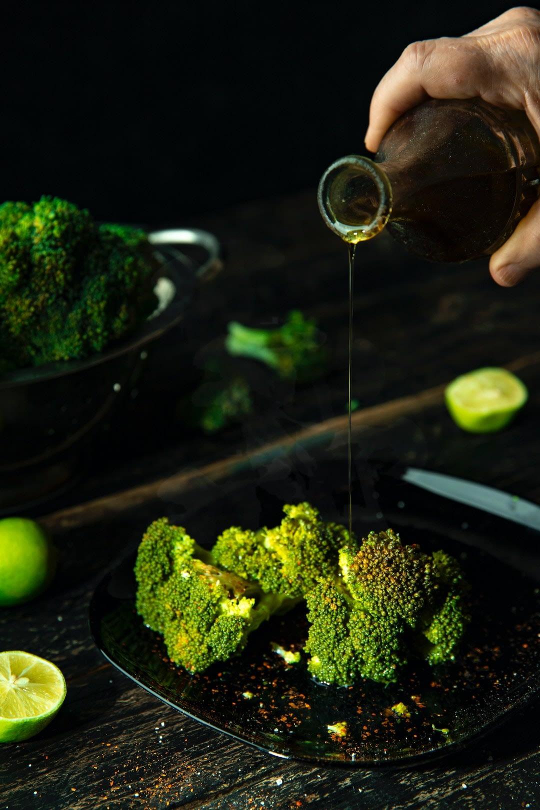 Verdure con olio evo